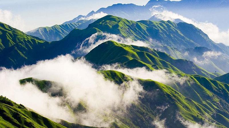 【清明假期*踏春】江西武功山人间仙境、天上草原徒步、观万里云海星空日出 三天游