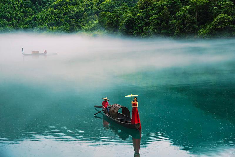 【每周五晚上出发】湖南郴州小东江、丹霞地貌高椅岭徒步、仰天湖大草原骑马 三日游
