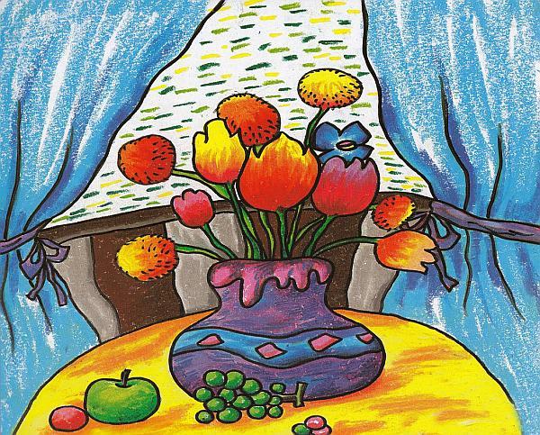 智博新理念教育-儿童创意美术全年班(优惠)报名了--图片