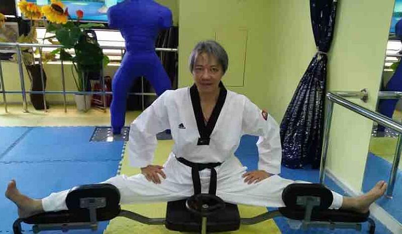 跆拳道教练员技术系列活动之一:国技院八段师范麦家恺老师竞技教练员塑造营