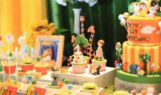 家有宝贝&旗帜会员尊享生日会【生日蛋糕&亲子手工DIY&互动游戏】