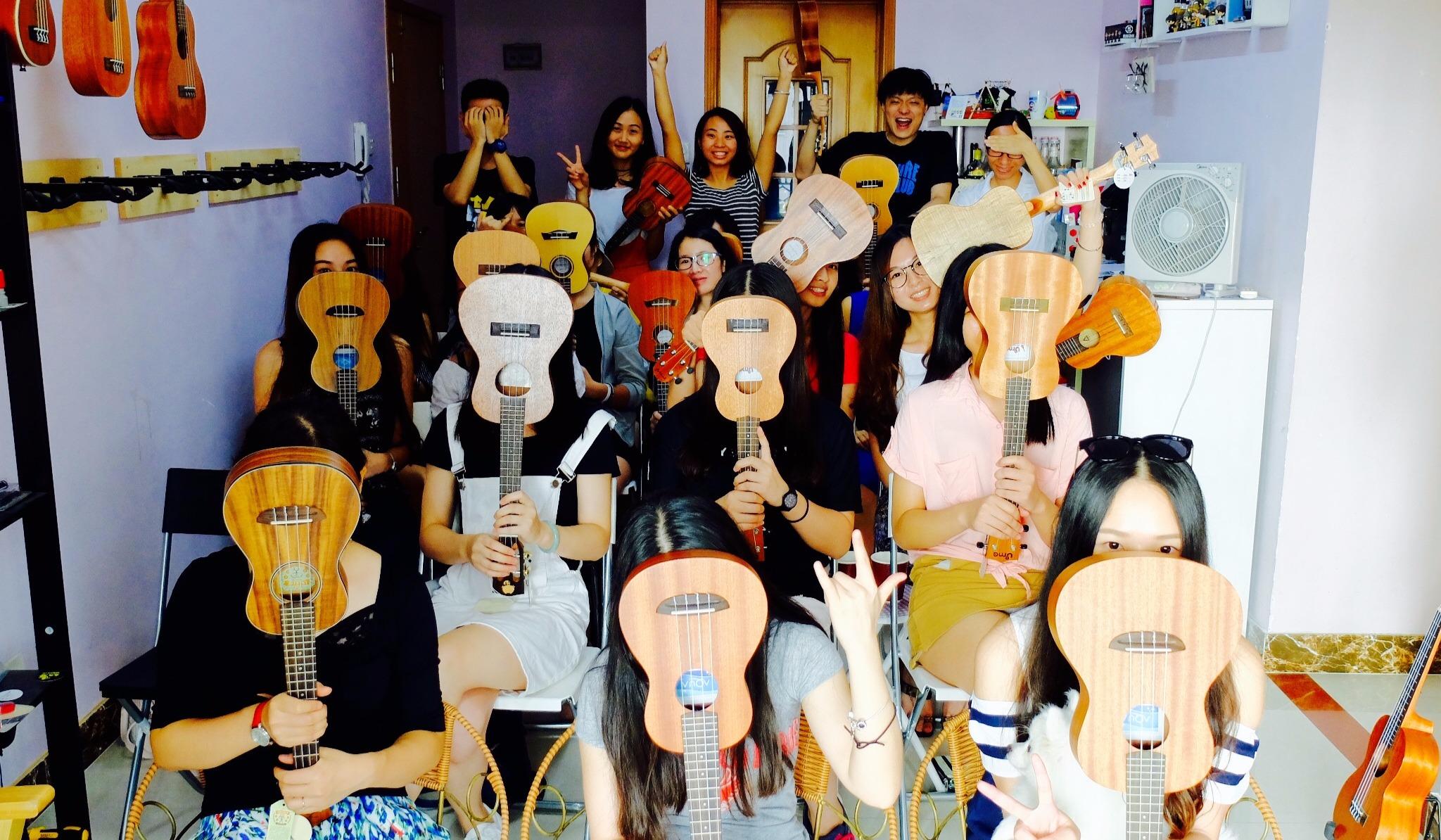 【6月22日周六】追梦 ukulele 尤克里里 免费公开课—自弹自唱马上get