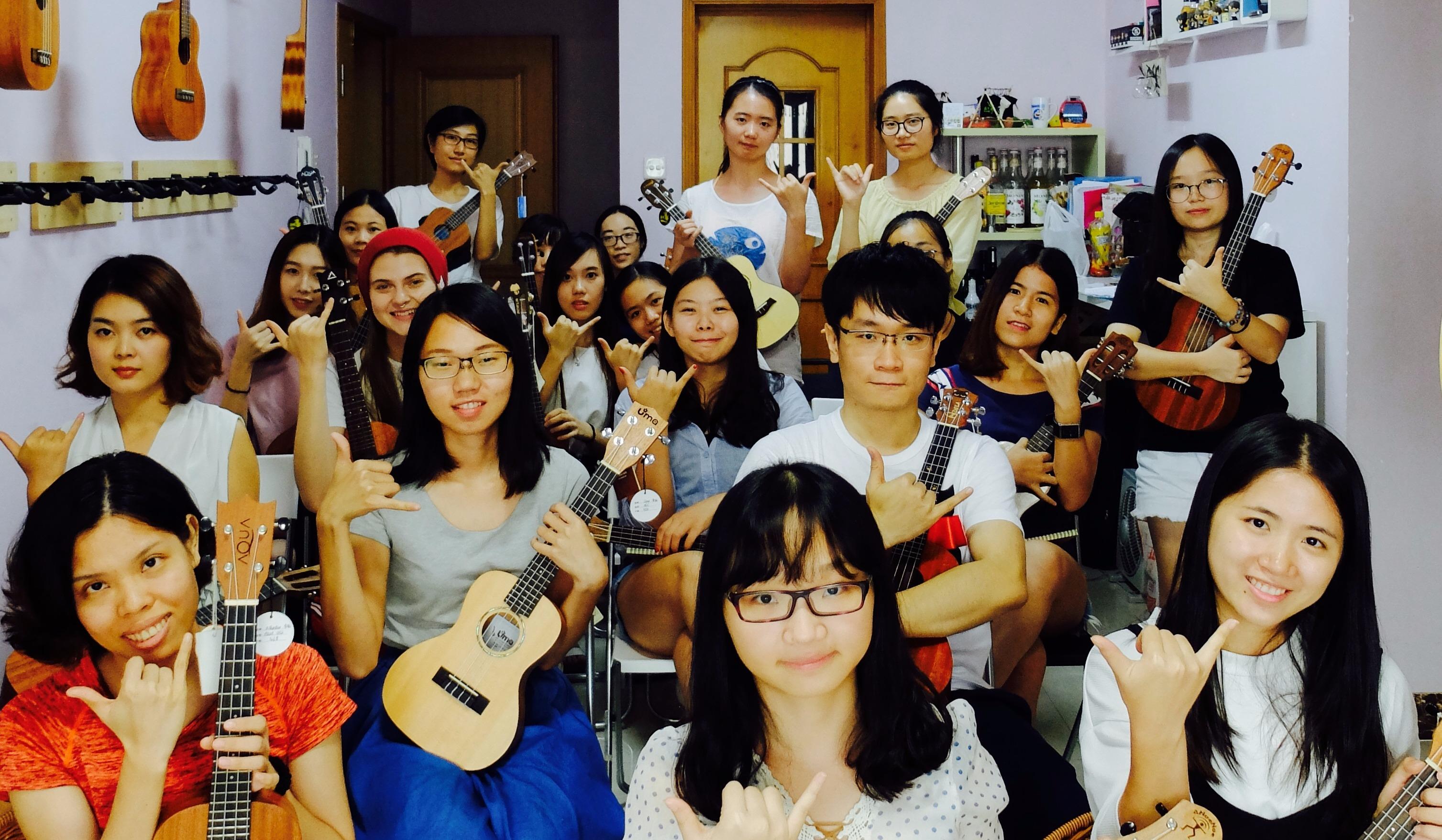 【6月23日周日】追梦 ukulele 尤克里里 周末免费公开课—自弹自唱马上get