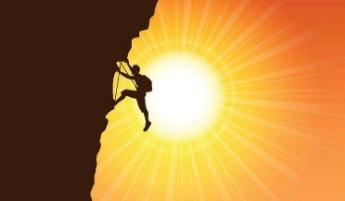 跟着老神去冒险-高坡野外攀岩