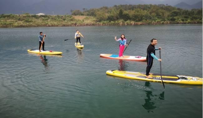 【增城趣玩】3月16/17日 SUP(桨板)体验,绿道徒步休闲摄影