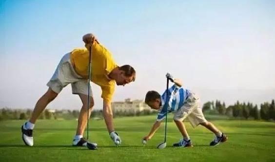"""""""厉害了,我的爸""""亲子运动时光——相约高尔夫,挥杆未来!"""