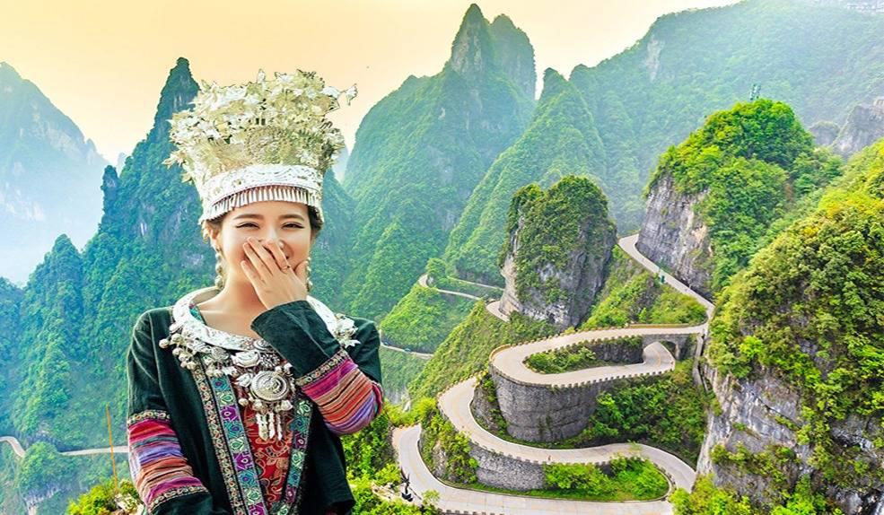 3天游【高铁出行】湖南张家界天门山、高空玻璃栈道、芙蓉镇、凤凰古城
