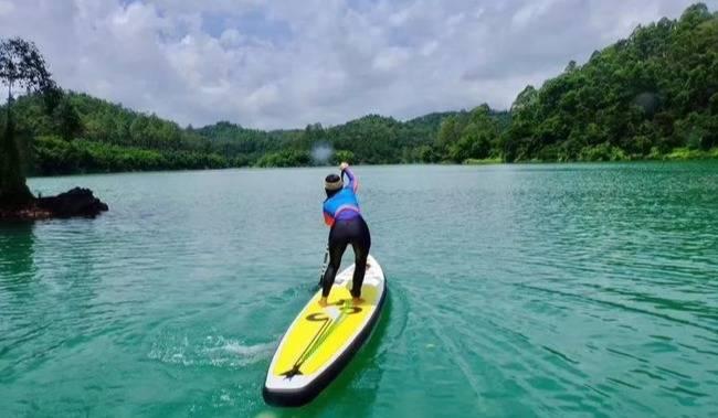 五一每天出发,茶山源流SUP-快乐划桨,魅力吊床,玩转假期